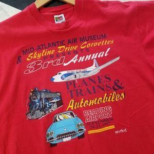 1997 Vintage Corvette/Airshow T Shirt